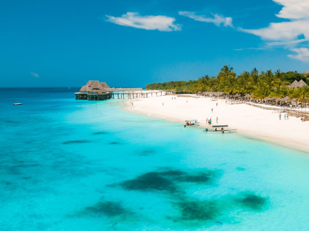 Read more to find out which African countries are open to international travel - Zanzibar, Tanzania
