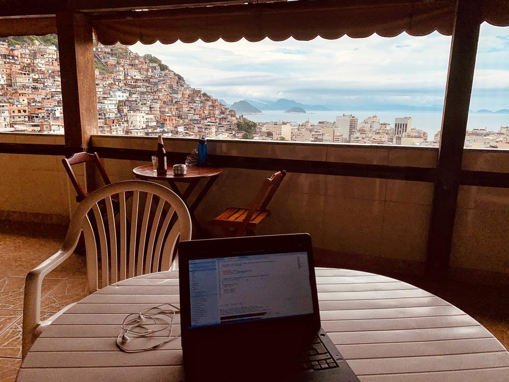 rio de janeiro favela view