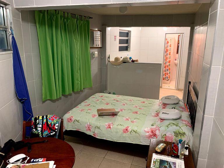 room in favela in rio
