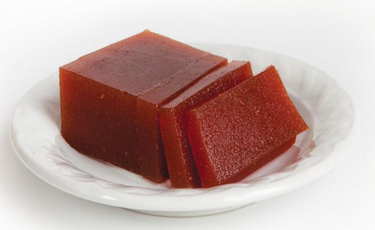 dulce de guayaba, traditional dessert dish similar to hard jam