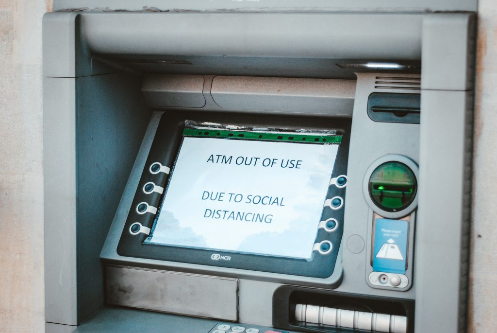 pay by card atm<br />