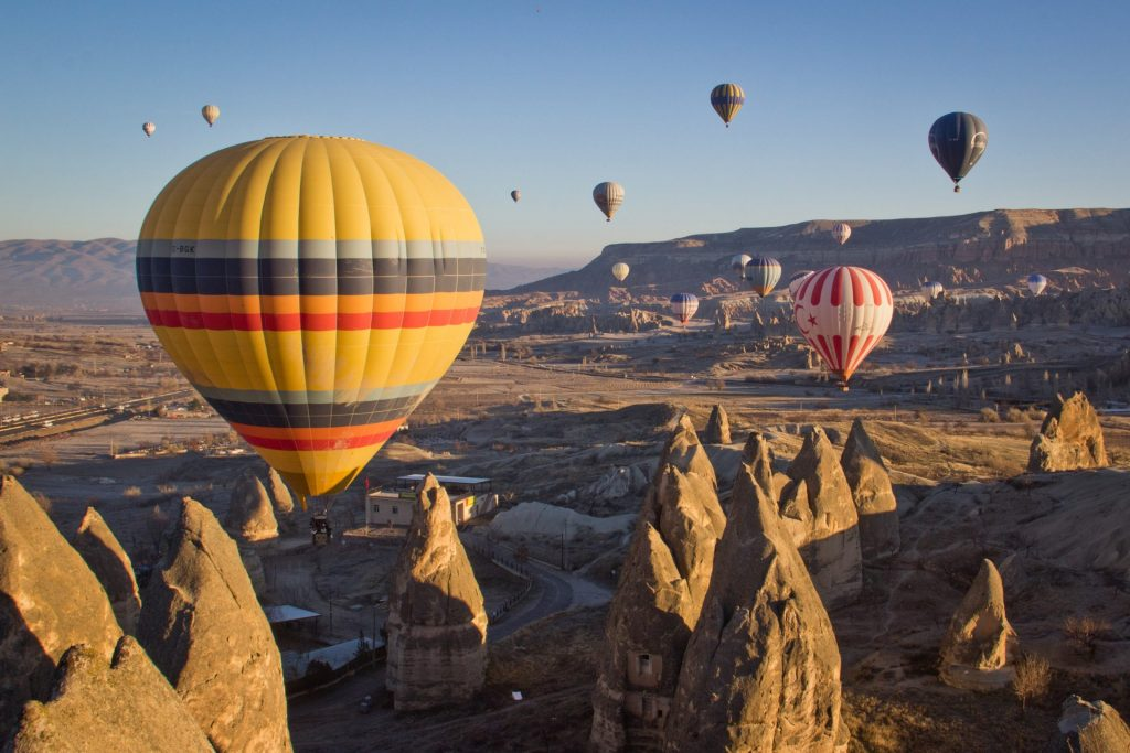 Find out the European countries that are open and which require a COVID-19 test prior to arrival - Cappadocia, Turkey
