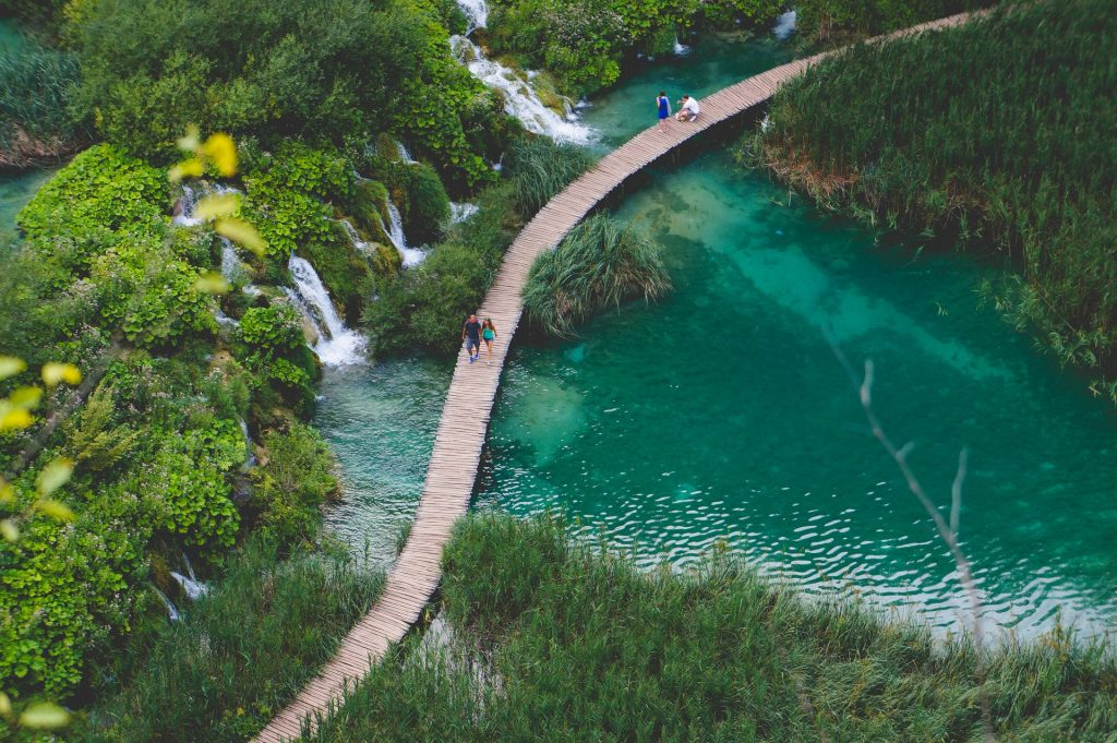 Find out the European countries that are open and which require a COVID-19 test prior to arrival - Plitvice National Park, Croatia