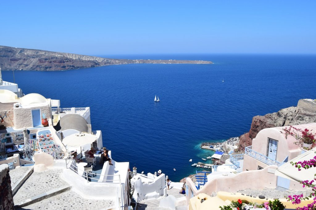 Find out the European countries that are open and which require a COVID-19 test prior to arrival - Santorini, Greece